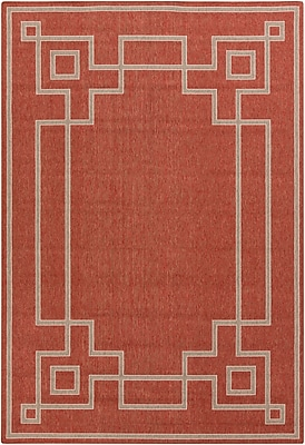 Surya Alfresco ALF9631-69 Machine Made Rug, 6' x 9' Rectangle