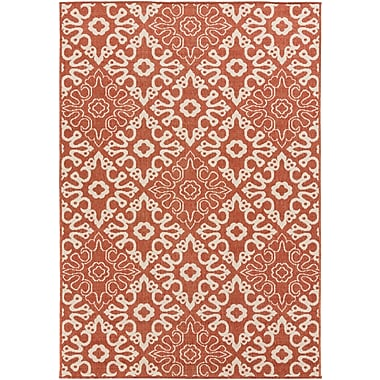 Surya Alfresco ALF9636-69 Machine Made Rug, 6' x 9' Rectangle