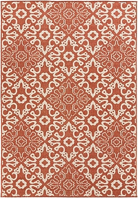 Surya Alfresco ALF9636-5376 Machine Made Rug, 5'3