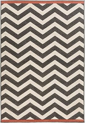 Surya Alfresco ALF9646-69 Machine Made Rug, 6' x 9' Rectangle