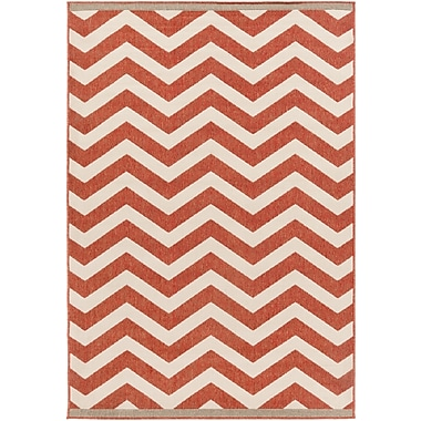 Surya Alfresco ALF9647-5376 Machine Made Rug, 5'3