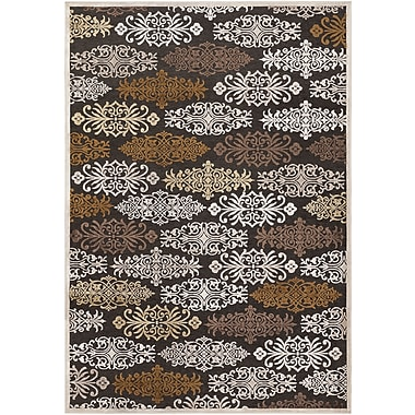 Surya Basilica BSL7133-76106 Machine Made Rug, 7'6