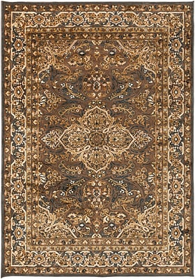 Surya Basilica BSL7202-5276 Machine Made Rug, 5'2
