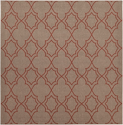 Surya Alfresco ALF9588-89SQ Machine Made Rug, 8'9