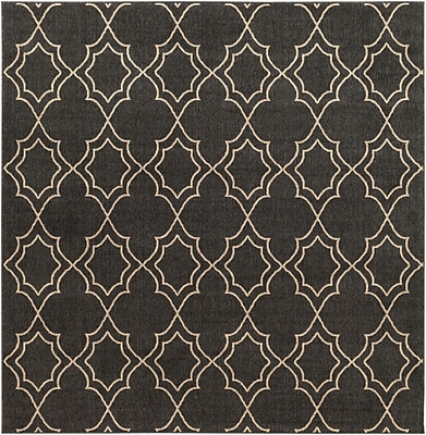 Surya Alfresco ALF9590-89SQ Machine Made Rug, 8'9