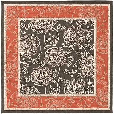 Surya Alfresco ALF9592-73SQ Machine Made Rug, 7'3