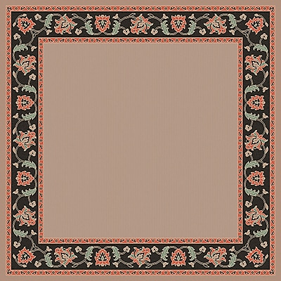 Surya Alfresco ALF9597-73SQ Machine Made Rug, 7'3