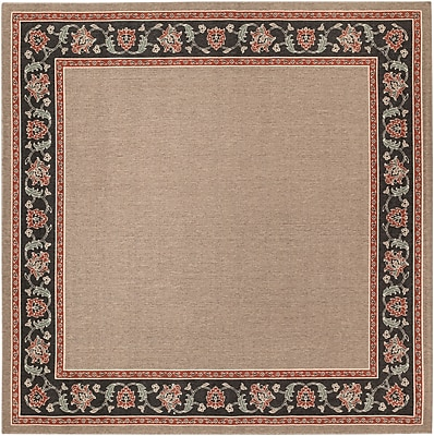 Surya Alfresco ALF9597-89SQ Machine Made Rug, 8'9