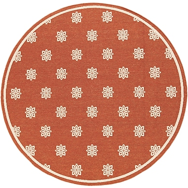 Surya Alfresco ALF9611-53RD Machine Made Rug, 5'3