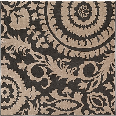 Surya Alfresco ALF9615-89SQ Machine Made Rug, 8'9