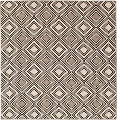 Surya Alfresco ALF9619-89SQ Machine Made Rug, 8'9