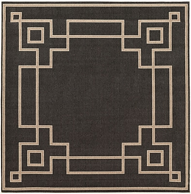 Surya Alfresco ALF9630-89SQ Machine Made Rug, 8'9