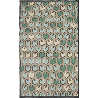 Surya Beth Lacefield Alameda AMD1073-58 Hand Woven Rug, 5' x 8' Rectangle