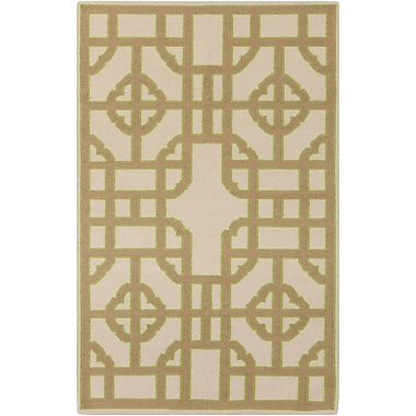 Surya Beth Lacefield Alameda AMD1079-58 Hand Woven Rug, 5' x 8' Rectangle