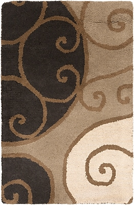 Surya Athena ATH5111-46 Hand Tufted Rug, 4' x 6' Rectangle