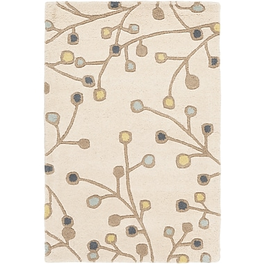 Surya Athena ATH5116-69 Hand Tufted Rug, 6' x 9' Rectangle