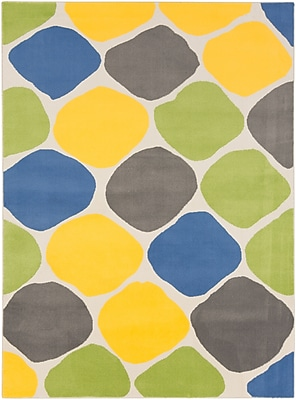Surya Bambino BBO5020-237 Machine Made Rug, 2' x 3'7