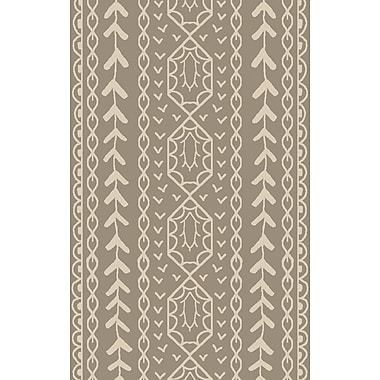 Surya Jill Rosenwald Bjorn BJR1002-58 Hand Knotted Rug, 5' x 8' Rectangle