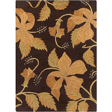 Surya Blooming BLM7001-23 Hand Hooked Rug, 2' x 3' Rectangle