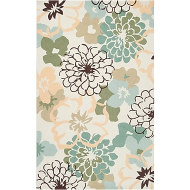 Surya Brentwood BNT7692-810 Hand Hooked Rug, 8' x 10' Rectangle