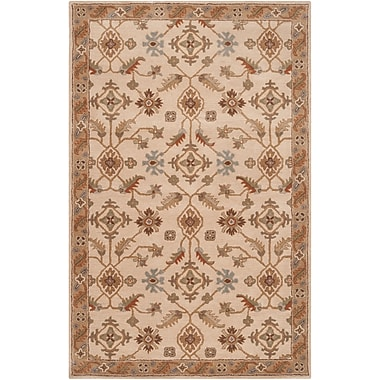 Surya Caesar CAE1084-46 Hand Tufted Rug, 4' x 6' Rectangle