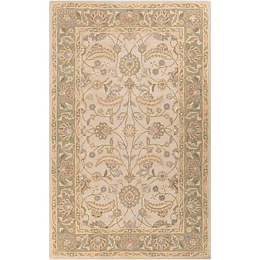 Surya Caesar CAE1114-69 Hand Tufted Rug, 6' x 9' Rectangle