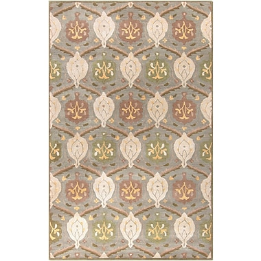 Surya Caesar CAE1122-46 Hand Tufted Rug, 4' x 6' Rectangle