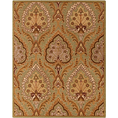 Surya Carrington CAR1004-810 Hand Hooked Rug, 8' x 10' Rectangle