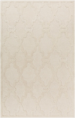 Surya Chandler CHA4000-58 Hand Hooked Rug, 5' x 8' Rectangle