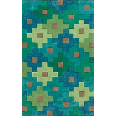 Surya Cosmopolitan COS9230-913 Hand Tufted Rug, 9' x 13' Rectangle