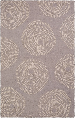 Surya Lotta Jansdotter Decorativa DCR4011-58 Hand Tufted Rug, 5' x 8' Rectangle