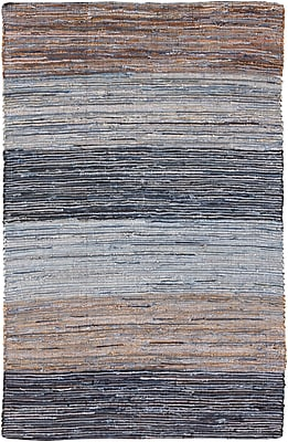 Surya Denim DNM1000-58 Hand Loomed Rug, 5' x 8' Rectangle