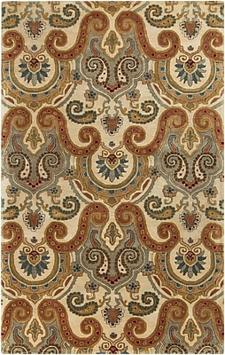 Surya Ellora ELO4005-58 Hand Tufted Rug, 5' x 8' Rectangle
