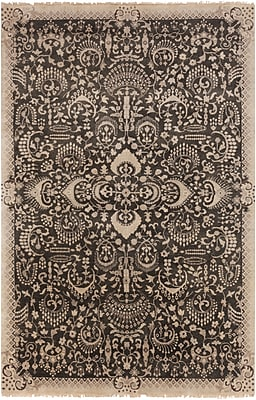 Surya Empress EMS7001-5686 Hand Knotted Rug, 5'6