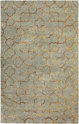 Surya Essence ESS7667-23 Hand Tufted Rug, 2' x 3' Rectangle
