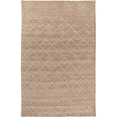 Surya Etching ETC4971-58 Hand Loomed Rug, 5' x 8' Rectangle