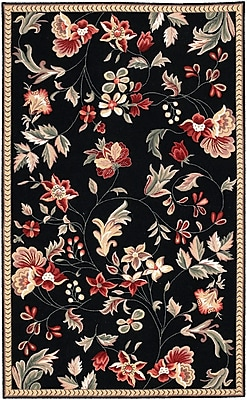 Surya Flor FLO8907-810 Hand Hooked Rug, 8' x 10' Rectangle