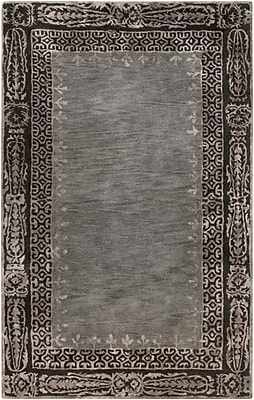 Surya Henna HEN1005-58 Hand Tufted Rug, 5' x 8' Rectangle