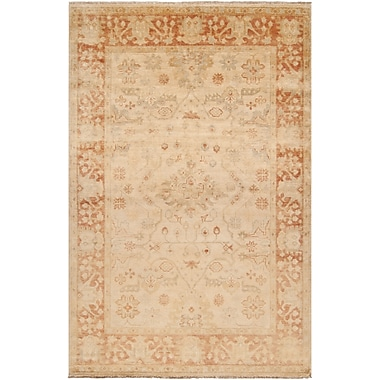 Surya Hillcrest HIL9007-23 Hand Knotted Rug, 2' x 3' Rectangle