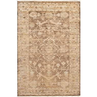 Surya Hillcrest HIL9011-913 Hand Knotted Rug, 9' x 13' Rectangle