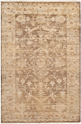 Surya Hillcrest HIL9011-23 Hand Knotted Rug, 2' x 3' Rectangle
