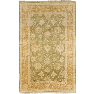 Surya Hillcrest HIL9028-811 Hand Knotted Rug, 8' x 11' Rectangle