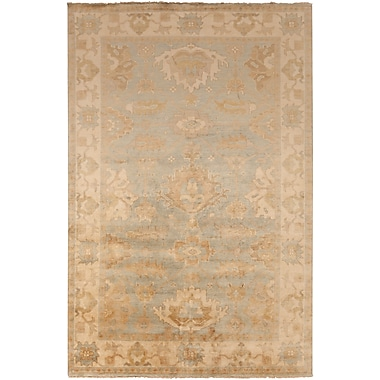 Surya Hillcrest HIL9033-811 Hand Knotted Rug, 8' x 11' Rectangle
