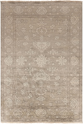 "Surya Hillcrest HIL9034-5686 Hand Knotted Rug, 5'6"" x 8'6"" Rectangle"