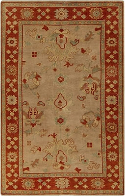 Surya Haven HVN1212-23 Hand Knotted Rug, 2' x 3' Rectangle