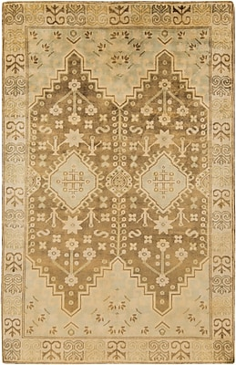 Surya Maiden MAI7000-5686 Hand Knotted Rug, 5'6