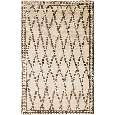 Surya Scarborough SCR5137-58 Hand Knotted Rug, 5' x 8' Rectangle