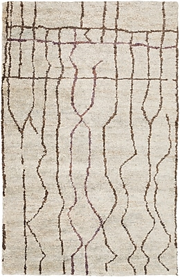 Surya Scarborough SCR5141-58 Hand Knotted Rug, 5' x 8' Rectangle