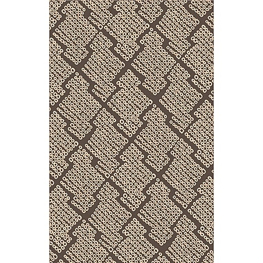 Surya Shibori SHB8003-811 Hand Loomed Rug, 8' x 11' Rectangle