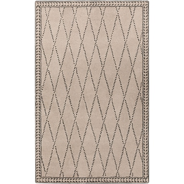Surya Stampede SMP6000-811 Hand Tufted Rug, 8' x 11' Rectangle